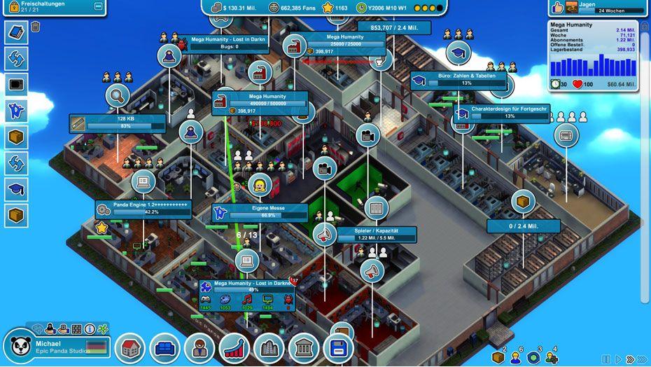 Mad Games Tycoon Perfektes Spiel
