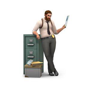 pc mac 用の the sims 4 get to work origin