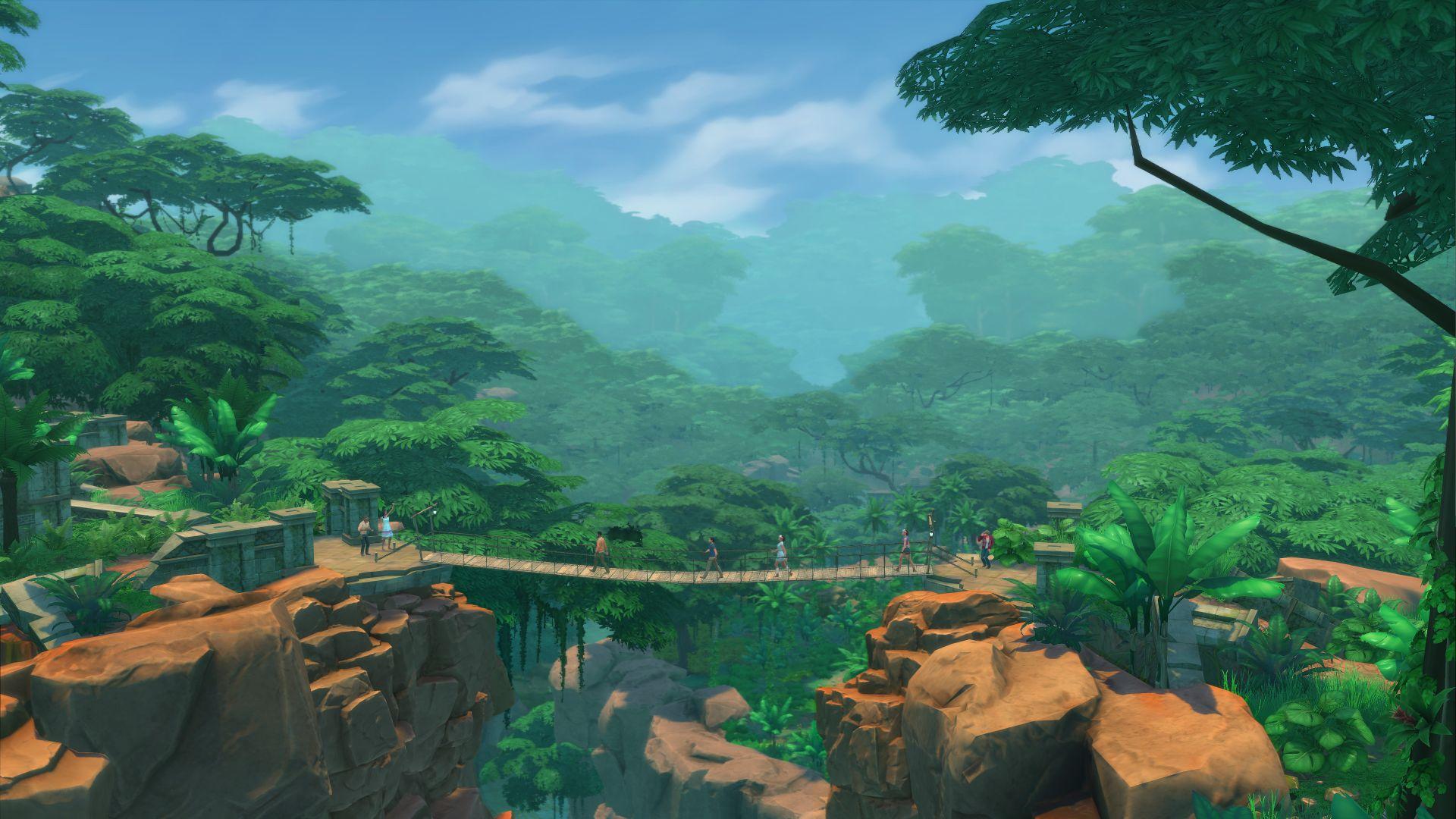 pc mac 用の the sims 4 jungle adventure origin