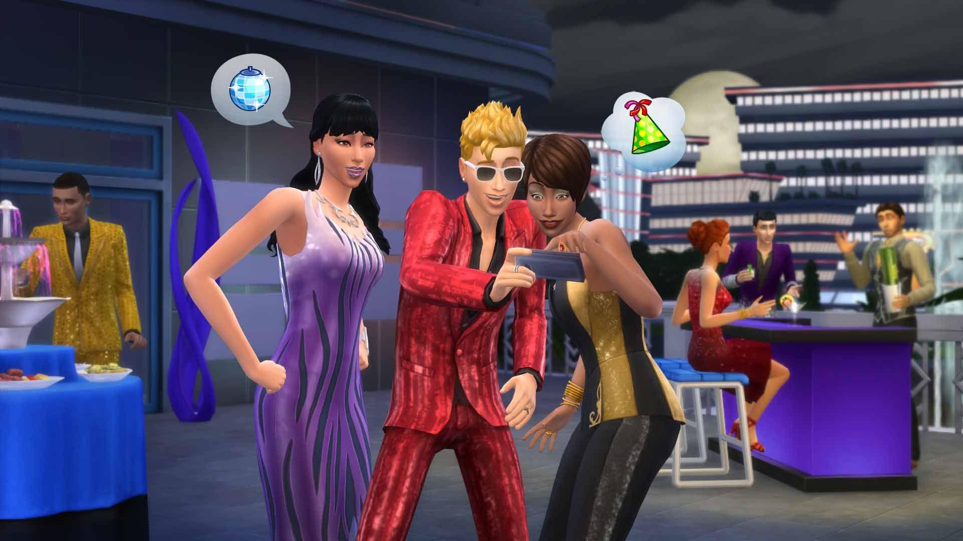 Die Sims 4 Luxus Party Accessoires Für Pcmac Origin