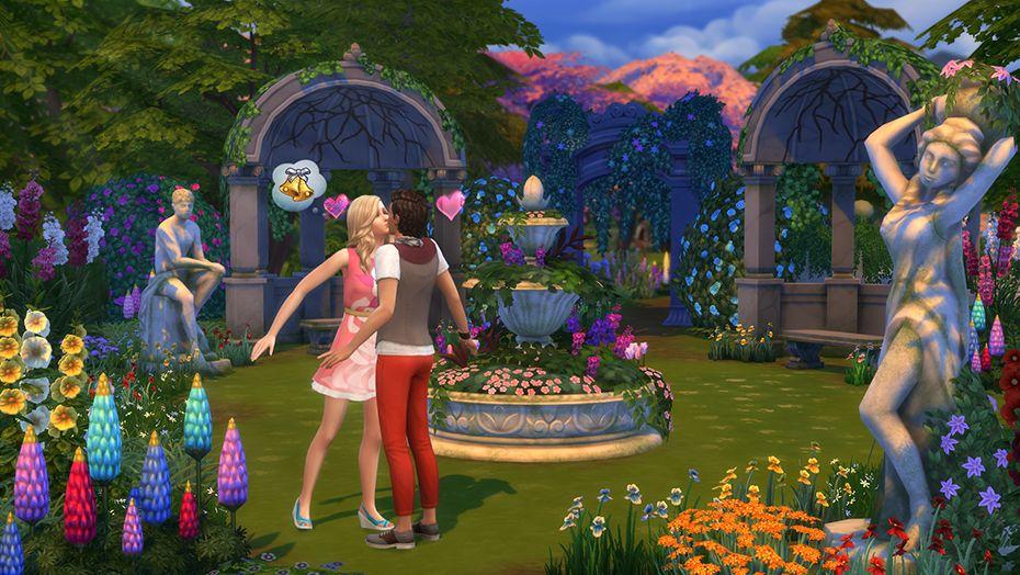 The Sims 4 Romantic Garden Stuff For Pcmac Origin