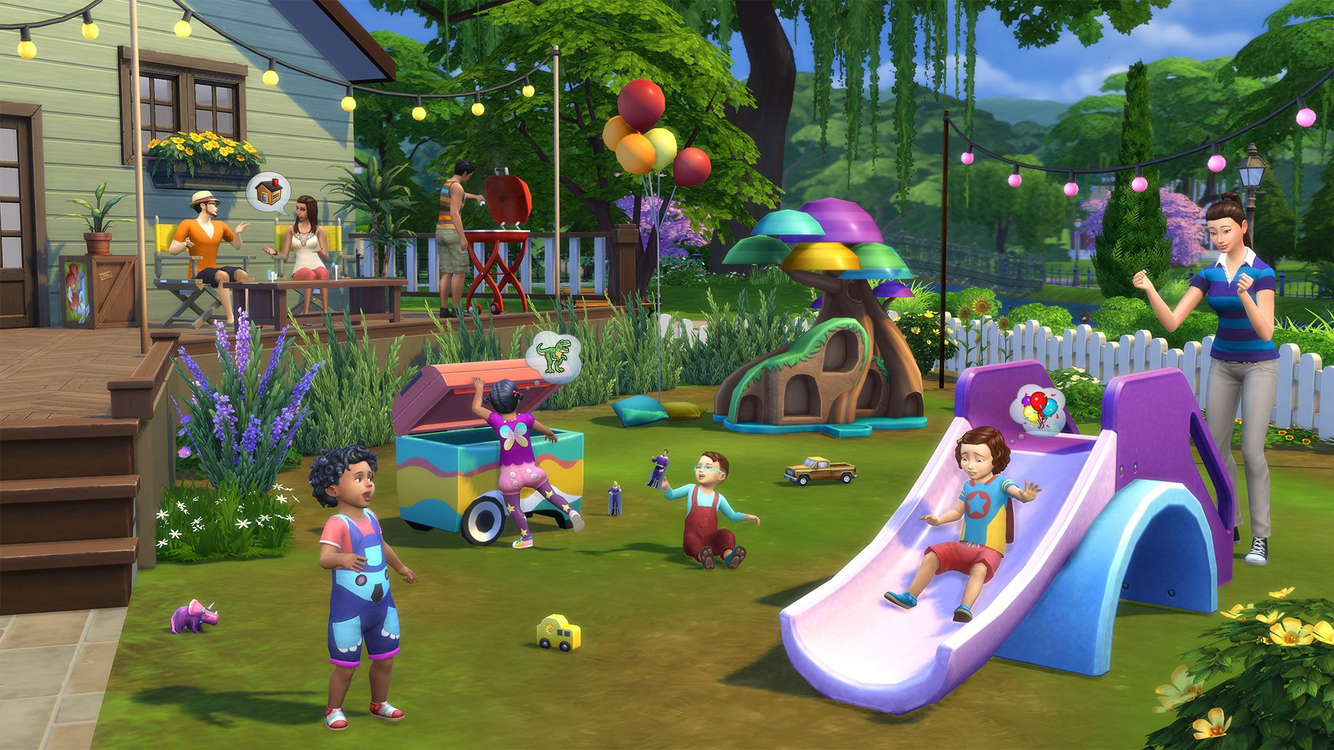 The Sims™ 4 Toddler Stuff for PC Mac