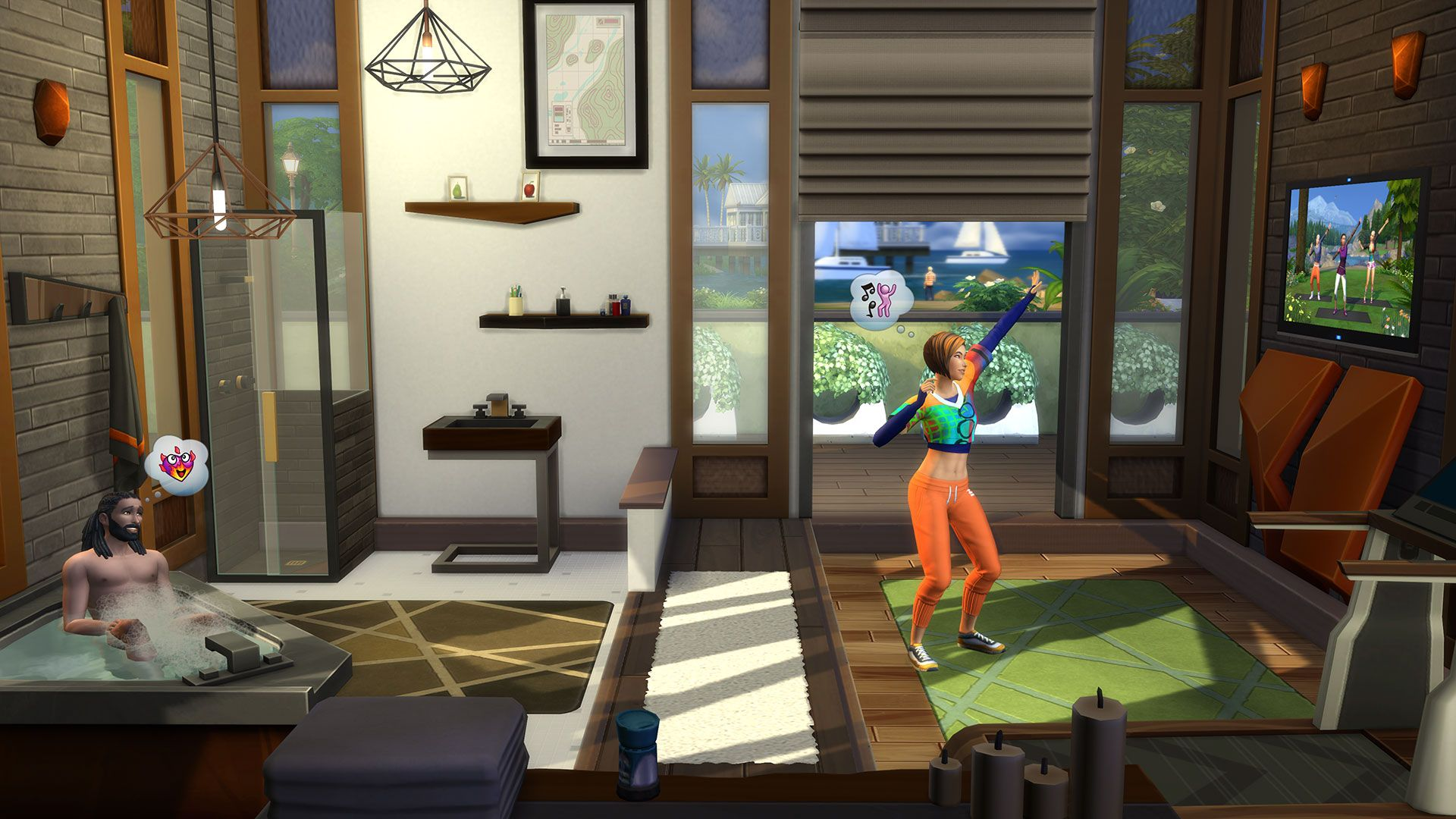 Die Sims™ 4 Fitness-Accessoires für PC/Mac   Origin