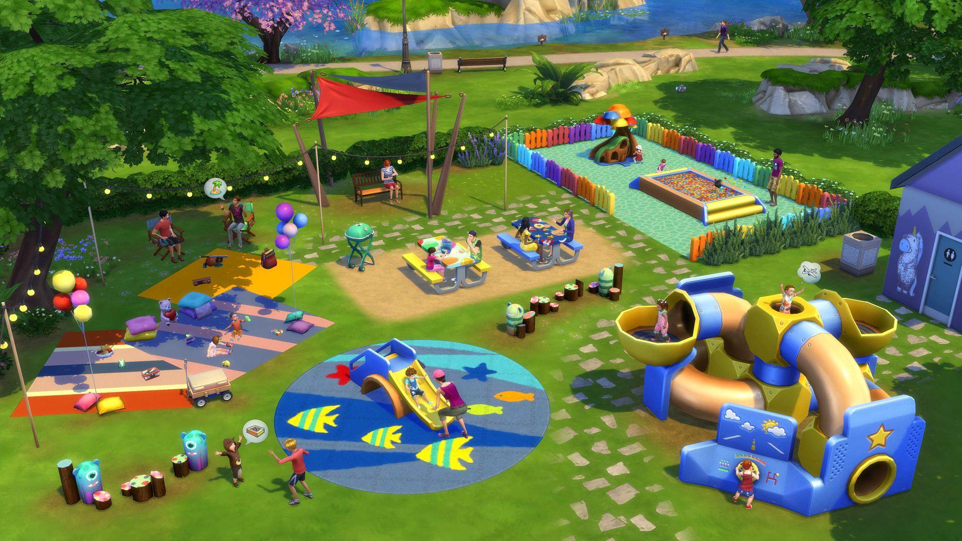 Výsledek obrázku pro the sims 4 toddler stuff
